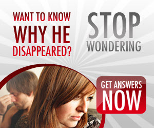 why he disappeared