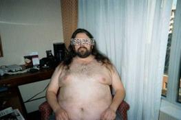 Man's bad profile picture